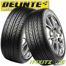 2 Delinte Thunder D7 245/35ZR20 95W Ultra High Performance Tires 245/35/20