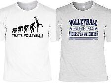 Volleyball T-Shirt Herren Sprüche Volleybal Shirt Volleyball Ausrüstung Geschenk
