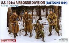 Dragon 1/35 6163 WWII US 101st Airborne Division (Bastogne 1944) (4 Figures)