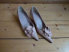 Ladies RAVEL Pink Shoes Size 5 (38) Flower Pattern