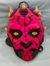 Vintage/Collectable/Official Star Wars Darth Maul Large Plush Backpack/Bag-16""