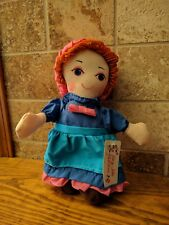 Vintage Sugarloaf Creation Fairy Tale Families- Plush Miss Muffet Doll
