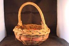 Unbranded Cane Round Decorative Baskets