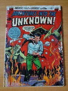 Adventures into the Unknown #43 ~ FAIR - GOOD GD ~ 1953 ACG Comics
