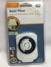 Ge 15119 Basic 24 Hour Plug-in Programmable Indoor Timer