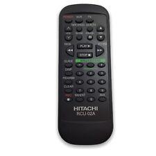 Hitachi RCU-02A TV VCR Remote Control TESTED WORKS VT-FX530 FX530A, FX630, FX63
