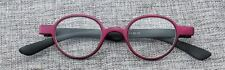 LUNETTES RONDES LOUPE VUE LECTURE PRESBYTE Taille S ROUGE DIOPTRIE  + 2.50