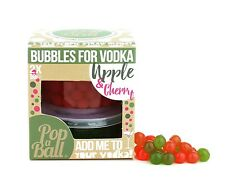 Popaball Bursting Bubbles For Vodka Apple & Cherry Flavour Bubble Tea Drink