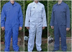 HEAVY DUTY KLM KLEDING BOILERSUITS HEAVY COTTON & POLYCOTTON QUALITY OVERALL