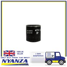 Oil Filter TJ  QFL0003 Citroën AX, BX, C5, Xsara, Fiat, Peugeot 106, 306