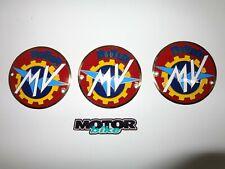MV Agusta three metal plates for MV Agusta classic