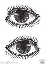 Elegant Hand-drawn Temporary Tattoo - Eye Temporary Tattoo