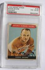 Eddie Shore Hockey Card # 19  Sport Kings Gum - Goudey - PSA VG-EX 4