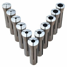 ULTRA PRECISION 11 PC. R-8 COLLET SET 1/8″ - 3/4″ MADE IN TAIWAN FREE SHIPPING!