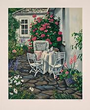 """Susan Rios -  """"With My Friends"""", hand-signed serigraph on paper"""