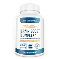 Brain Boost Complete - Brain, Memory and Focus Supplement* (60 Capsules)