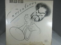DONALD BYRD Caricactures BNLA633G LP  VG cover VG-