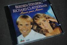 "RICHARD CLAYDERMAN & BERDIEN STENBERG ""Amour Pour Amour"" CD / DINO - DNCD1220"