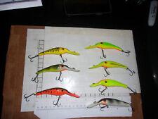 Lindy Shadling Vintage crankbait Walleye lure tackle choose your color