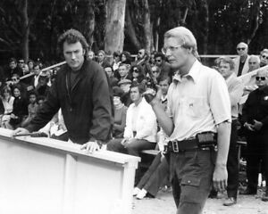 Magnum Force Clint Eastwood Dirty Harry David Soul at shooting range 8x10 photo