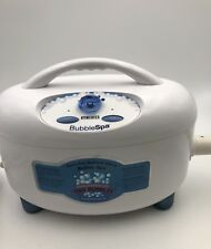 Homedics Bubble Spa Deluxe Model Bmat-1 Unit Only Preowned
