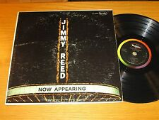 "MONO BLUES LP - JIMMY REED - VEE-JAY 1025 - ""NOW APPEARING"""