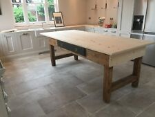 rustic farmhouse style table 1.8 mtrs