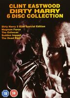 Clint Eastwood DIRTY HARRY COLLECTION (1971-1988)  DVD 5 FILM Region 4 AUS New!