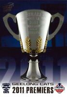 ✺Mint✺ 2011 GEELONG CATS AFL Premiers Card
