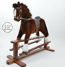 NEW MARS IV  Handmade Brand New LARGE Rocking Horse MADE IN EUROPE from ALANEL