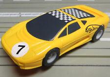 Pour H0 Circuit Routier Électrique Course Modellbahn - Jaguar Xj220