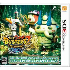NINTENDO 3DS Yo-kai Watch Busters 2 Sword VERSION For JAPANESE SYSTEM ONLY !!