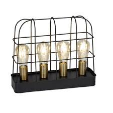 Vintage Lámpara de Mesa Terneg Retro Iluminación Industria 4x E27