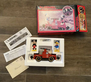 Vintage Lionel Large Scale Mickey Mouse & Donald Duck Handcar w/ Box 8-87207