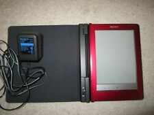 Sony Reader PRS-600 Red Digital eBook Touch Edition eReader