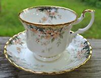 """Royal Albert China Royal Choice Series """"MARLBOROUGH"""" Cup & Saucer"""