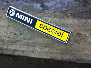 Classic Mini British Leyland MINI SPECIAL Badge