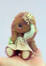 """Magnolia 4"""" soft toy elephant sewing pattern by pcbangles."""