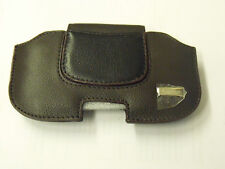 Hama 103470 Mobile Phone Holster - Brown Real Leather Business Line