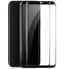 2x Curved Displayschutzglas für Samsung Galaxy S8 - Schutz Glas Folie Full Cover