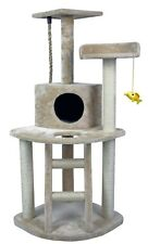 "HIDING Cat Tree™ 48"" Play House Condo Furniture Bed Tower Scratch Post Pole"