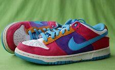 Nike Dunk Low Skate Shoes 7.5 Skateboard Sneakers 314141 641 Womens Pink Purple