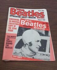 THE BEATLES MONTHLY BOOK No 52 APPRECIATION SOCIETY MAGAZINE AUGUST 1980