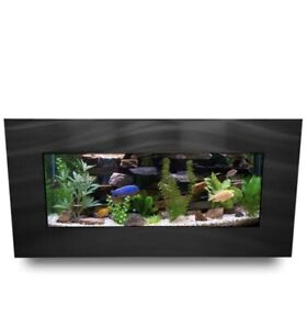Angelica 5 Gallon Aquarium Tank By Tucker Murphy Pet - Brushed Black