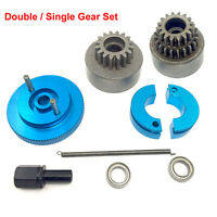 1:10 RC 16T Gear Clutch Bell Flywheel Assembly Set For HSP Oil Truck Buggy Car