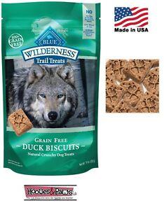 Natural Wilderness Blue Buffalo Dog DUCK Healthy Treats Grain Free MADE IN USA