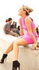 Naven Cut Out Bodycon Dress Savannah Jayde & Halston Sage Black LBD Size Small
