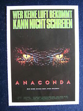 Filmplakatkarte cinema  Anaconda   Jennifer Lopez  , Ice Cube