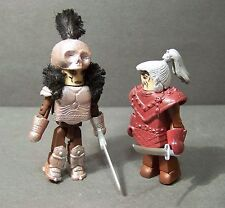 Custom minimate medieval set of Ramirez and the Kurgan from HIGHLANDER the movie