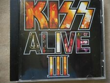 """KISS """"ALIVE III"""" CD 1993 RARE BMG ISSUE STAR SPANGLED BANNER DOMINO DEUCE"""